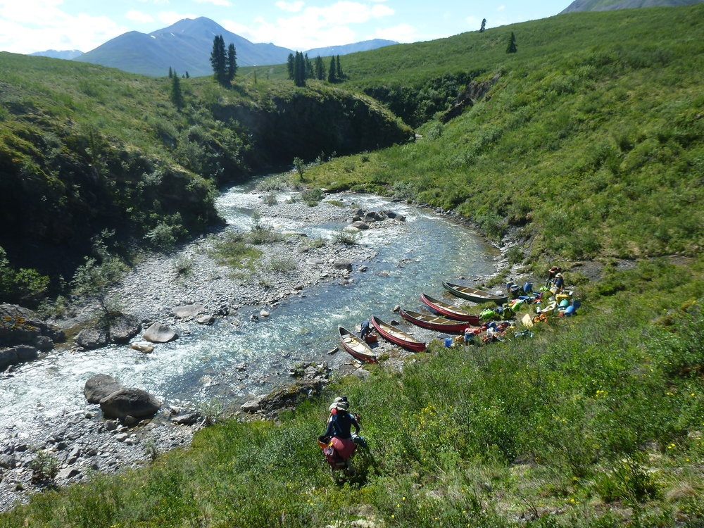 10 day adventure - Crafted for those who looking for a shorter holiday or who have already paddled the South Nahanni River.