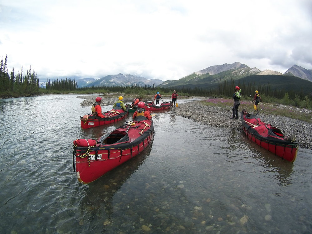 22 Day Adventure - This expedition offers a chance to experience two of Canada's most remote and spectacular National Parks.