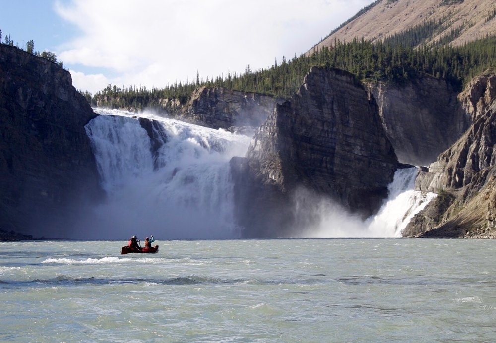 Nahanni River Canoe Virginia Falls.jpg