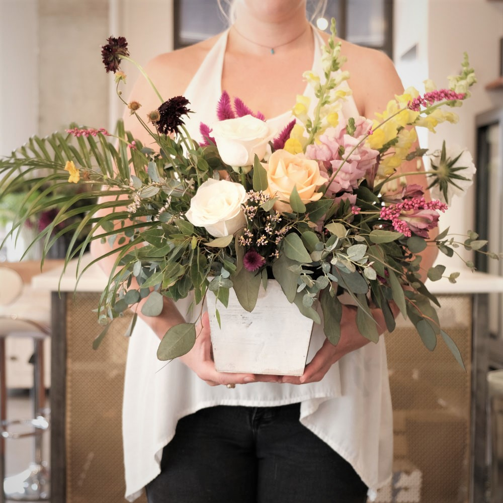 Large Gift Blooms - 28 stems in a statement vase.