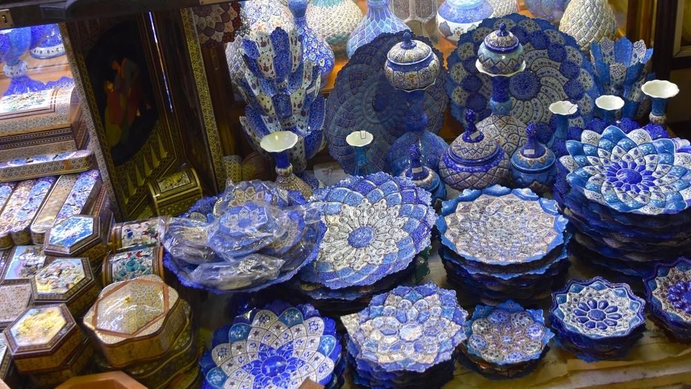 Iran-Shiraz-bazaar