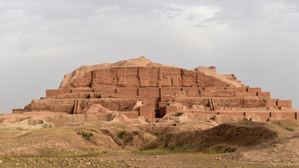 Iran-Chogha-Zanbil-Ziggurat