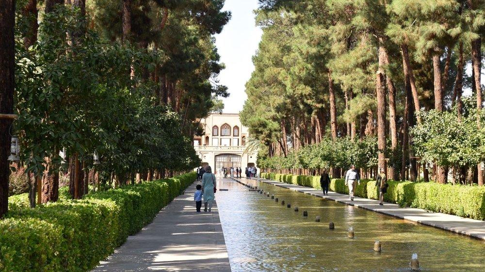 Iran-Yazd-Dowlatabad-Garden