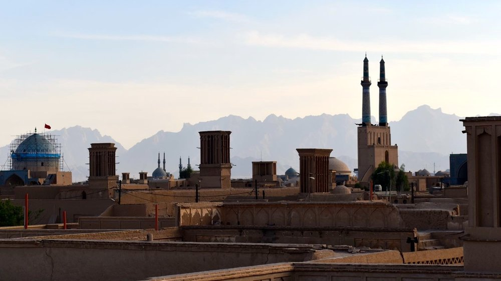 Iran-Yazd-Old-City-rooftop-view