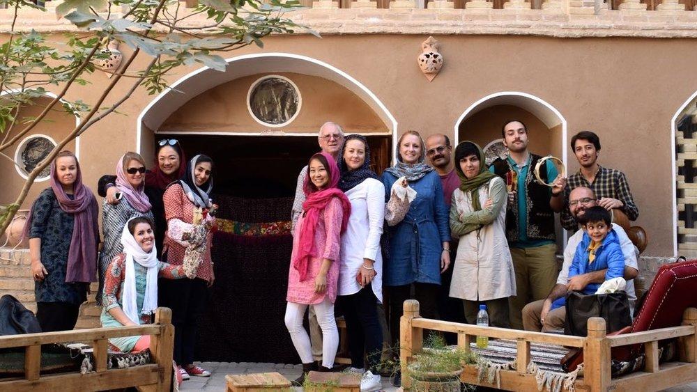 Iran-Kashan-Noqli-House-group.jpg