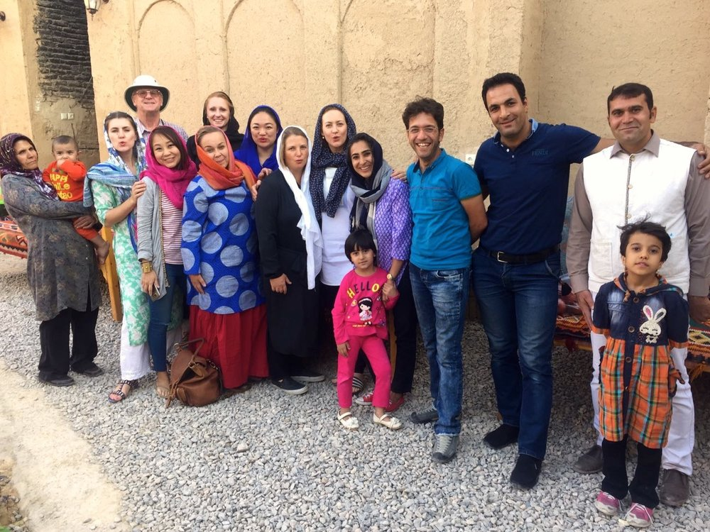 Iran-Abarkooh-family-group