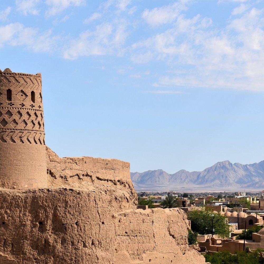 Iran-Yazd-Meybod-Narin-Castle