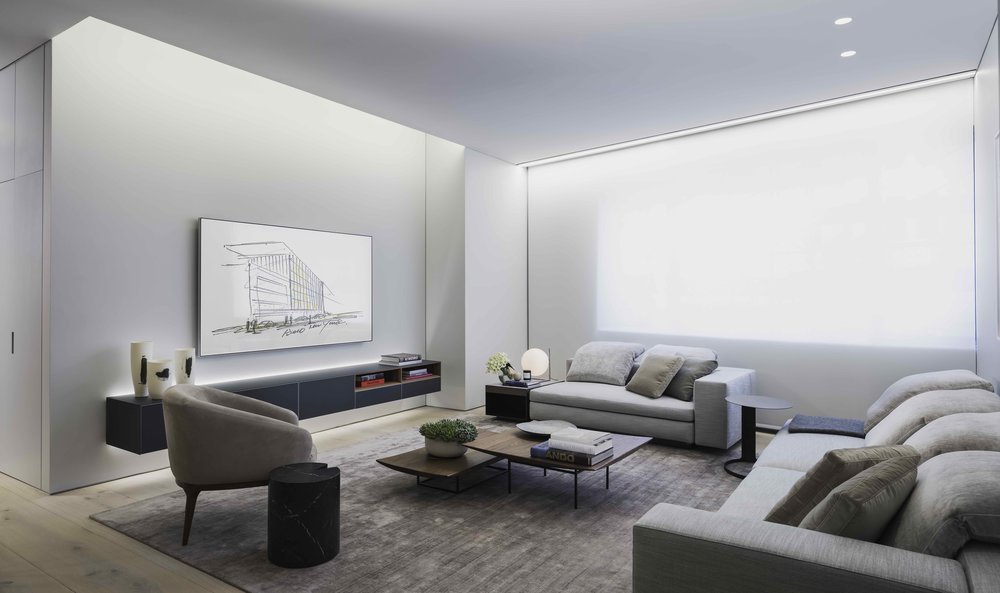 Tadao Ando's First NYC Condo Unveils New Model Home by Michael Gabellini