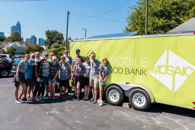 Mosaic's Mobile Food Bank
