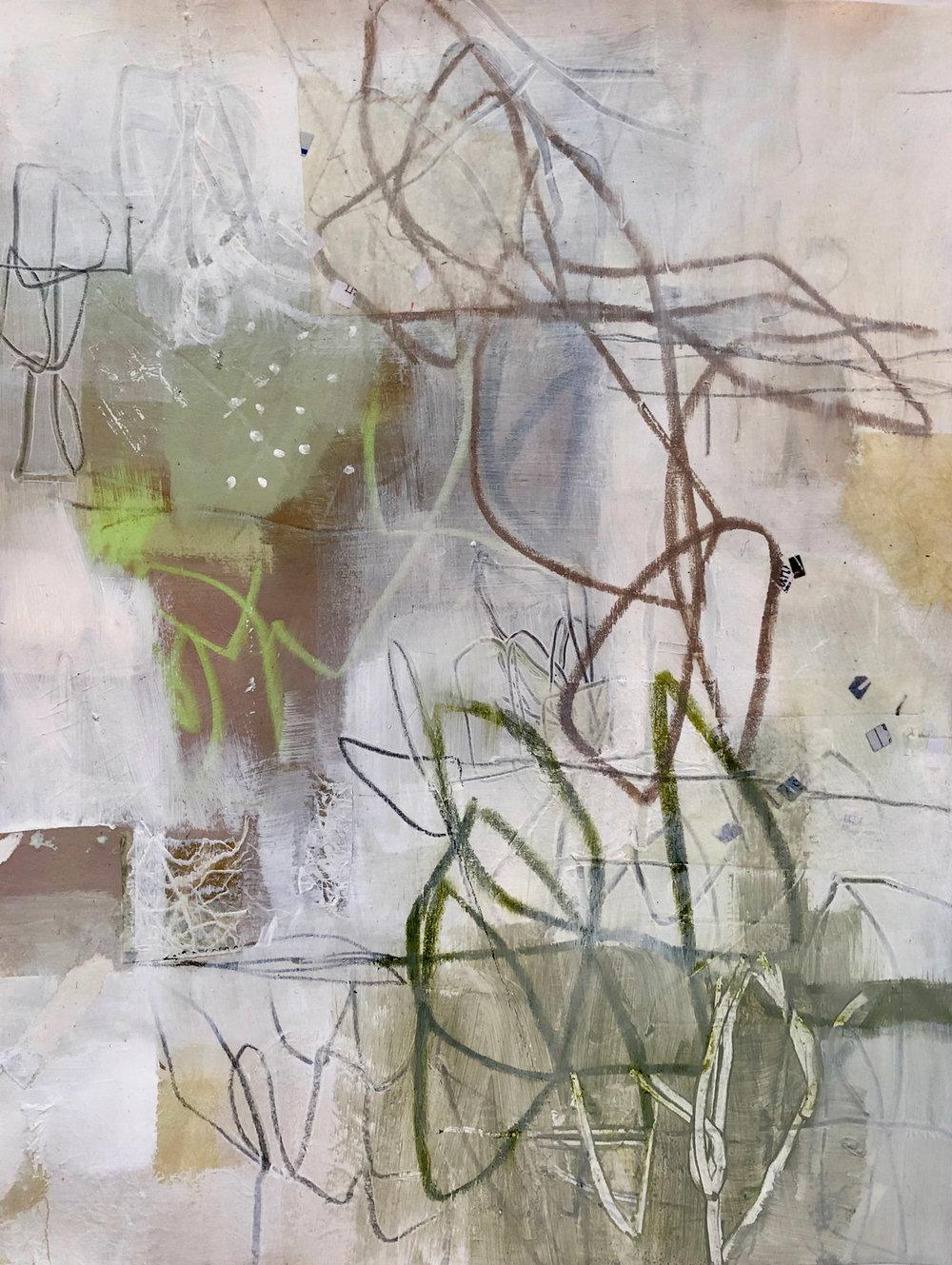 9x12 acrylic on paper
