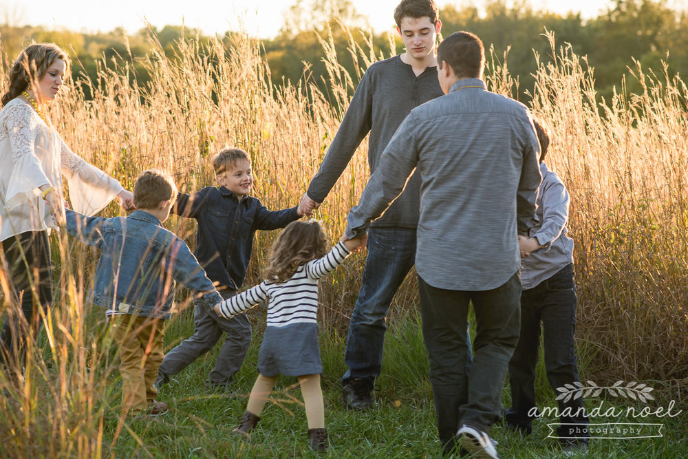 Springfield Ohio Lifestyle Family Photographer | Amanda Noel Pho