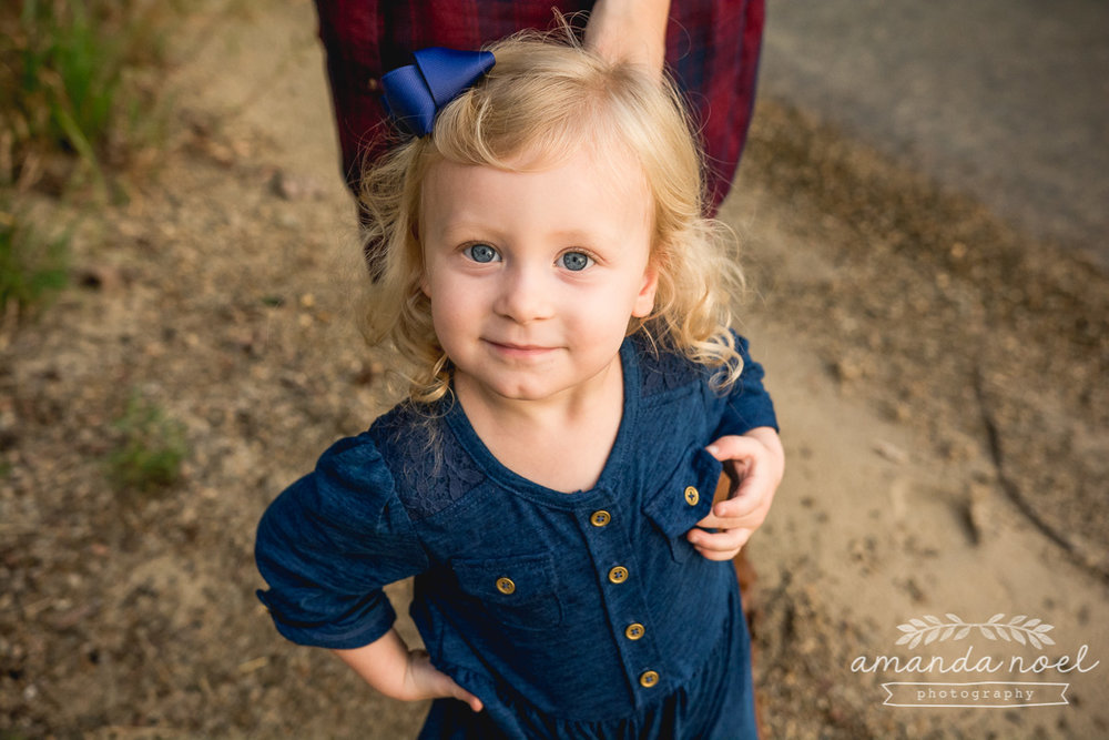 Springfield Lifestyle Maternity Family Photographer | Amanda Noel Photography | sunset maternity session toddler big sister