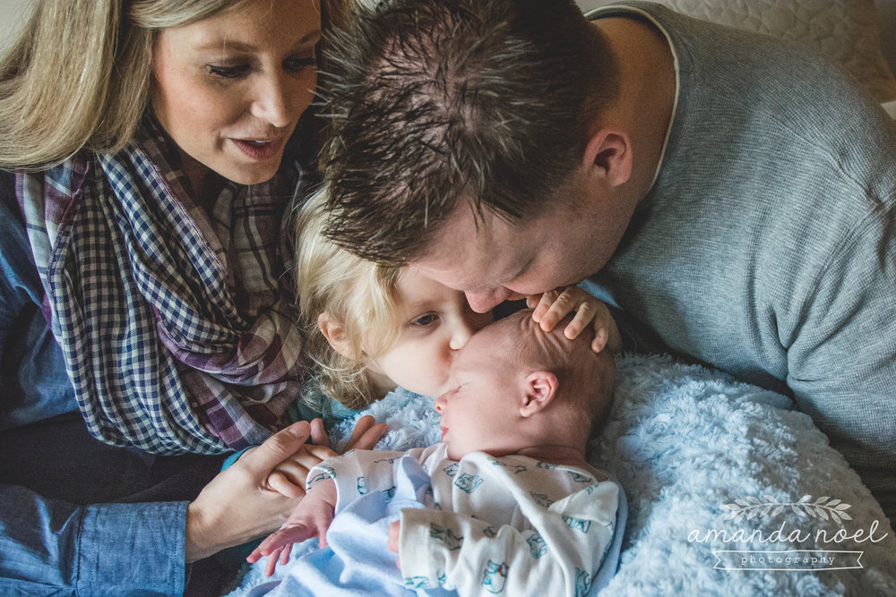 Springfield Ohio Newborn Photographer | Amanda Noel Photography