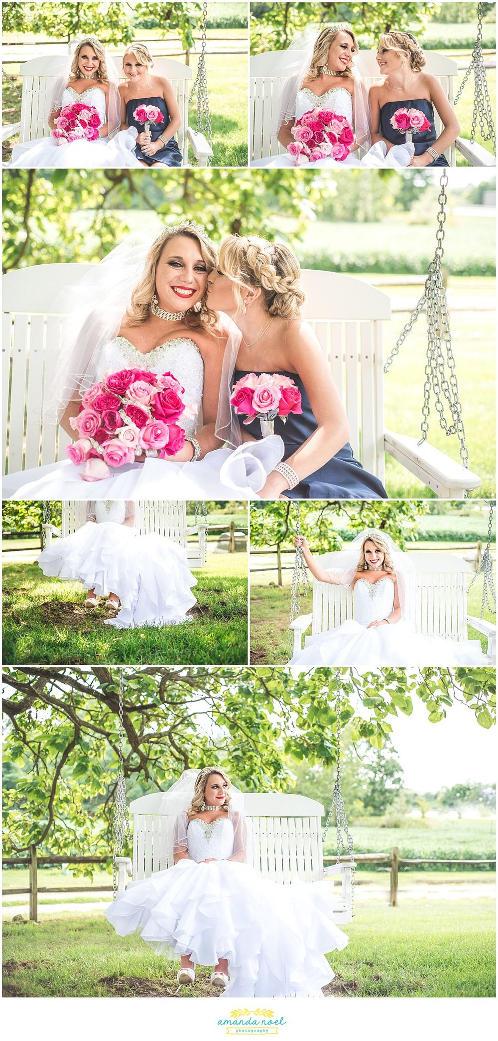 Springfield Ohio wedding bride portraits