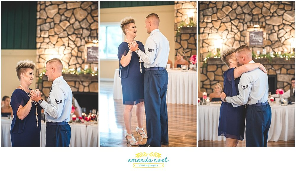 Springfield Ohio Wedding mother son dance