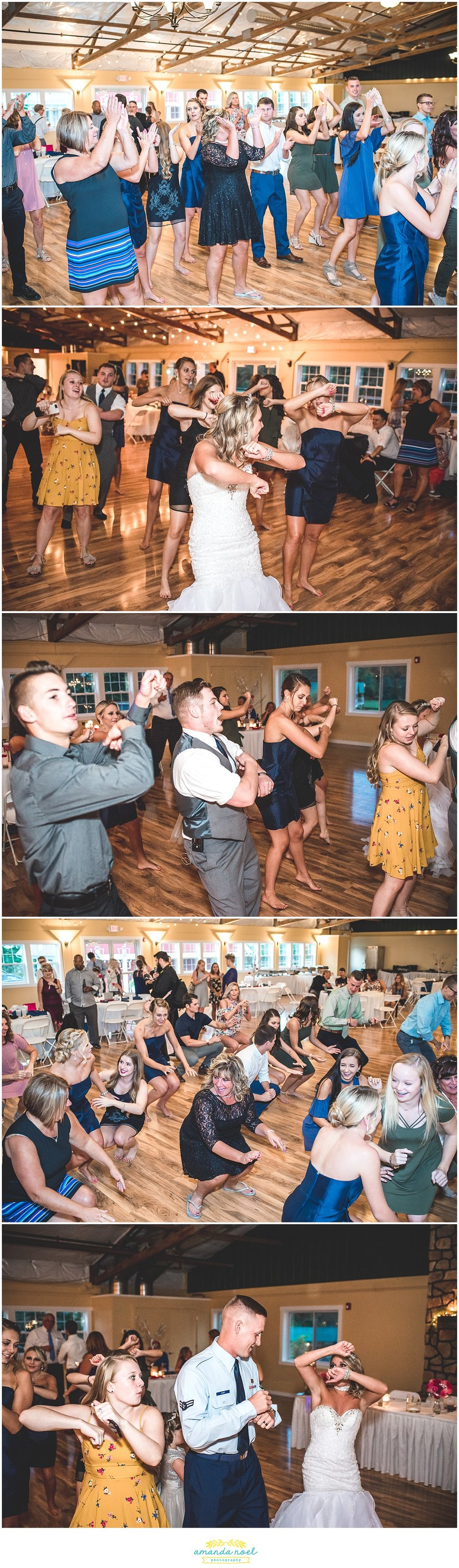 Springfield Ohio Wedding candid dancing