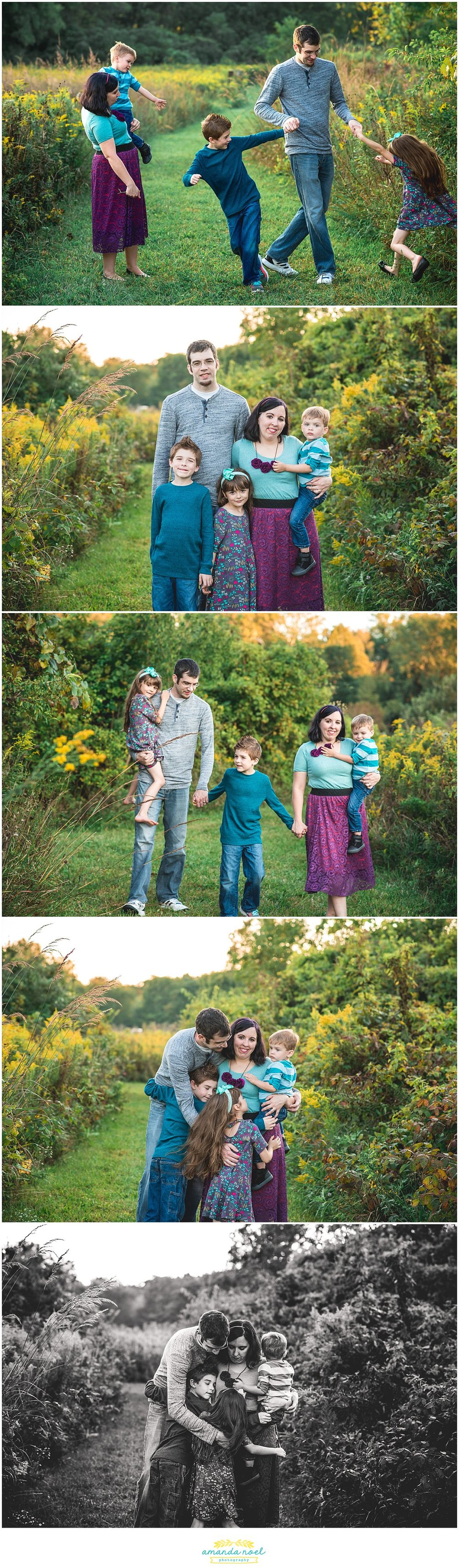 Central Ohio Family Photographer | Amanda Noel Photography | sunset at Buck Creek State Park