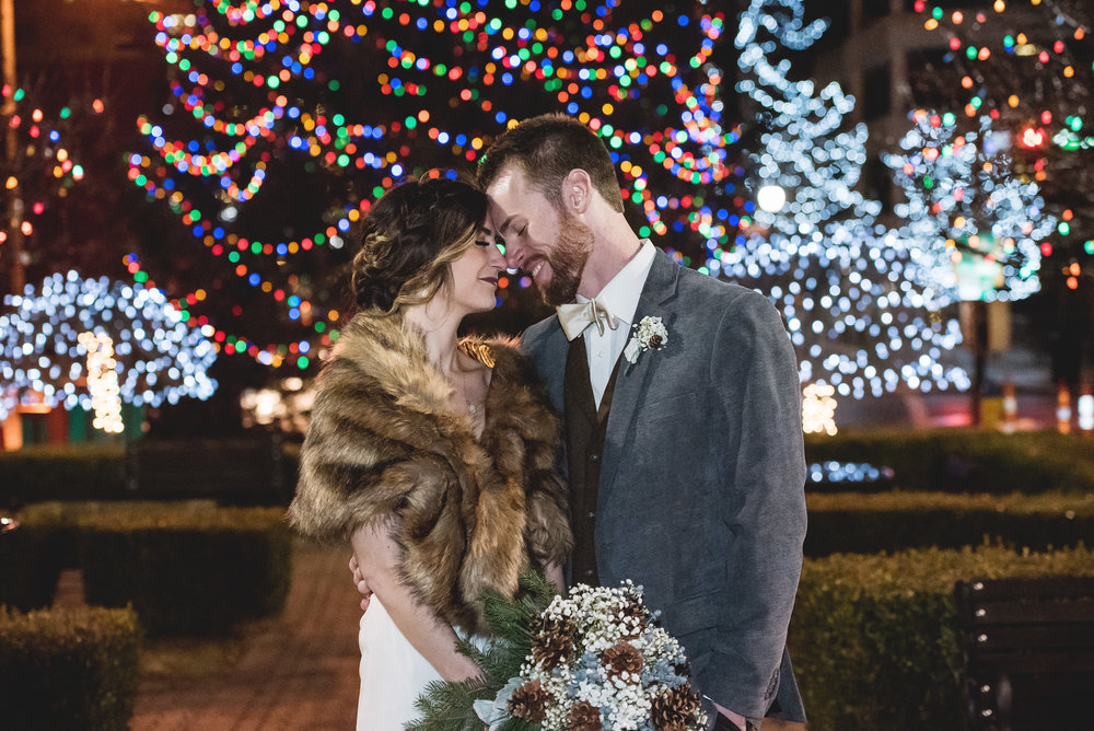 Columbus Ohio Wedding Photography | winter wedding