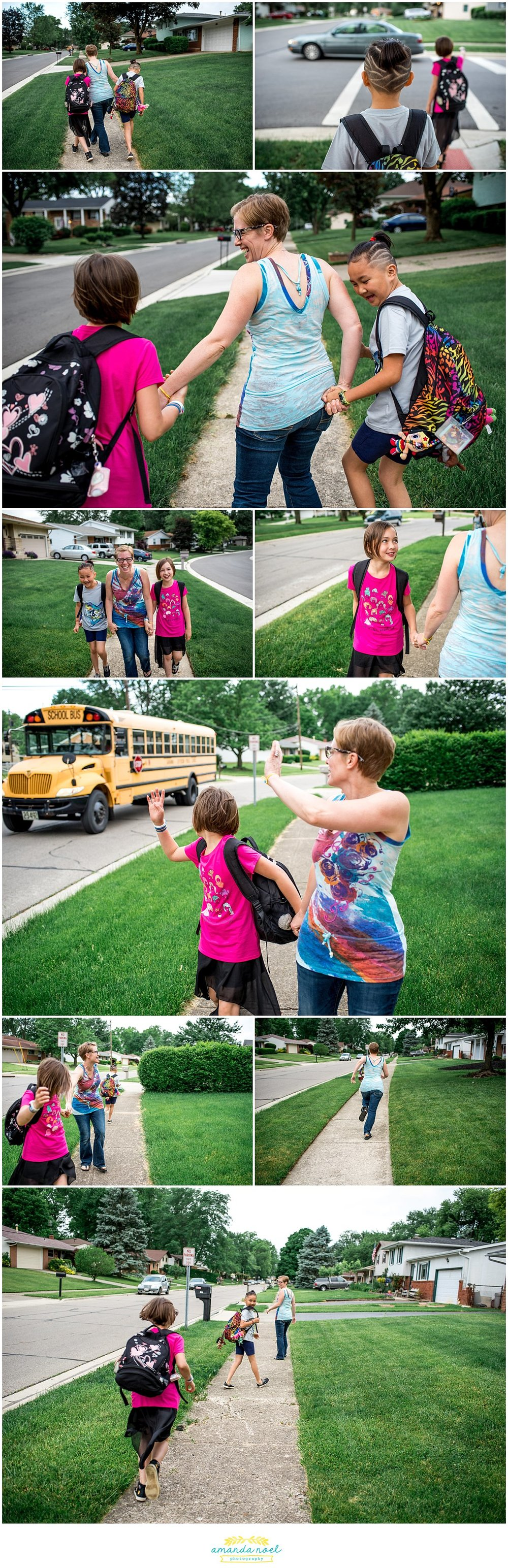 Columbus Ohio family photographer | candid photos | family walk
