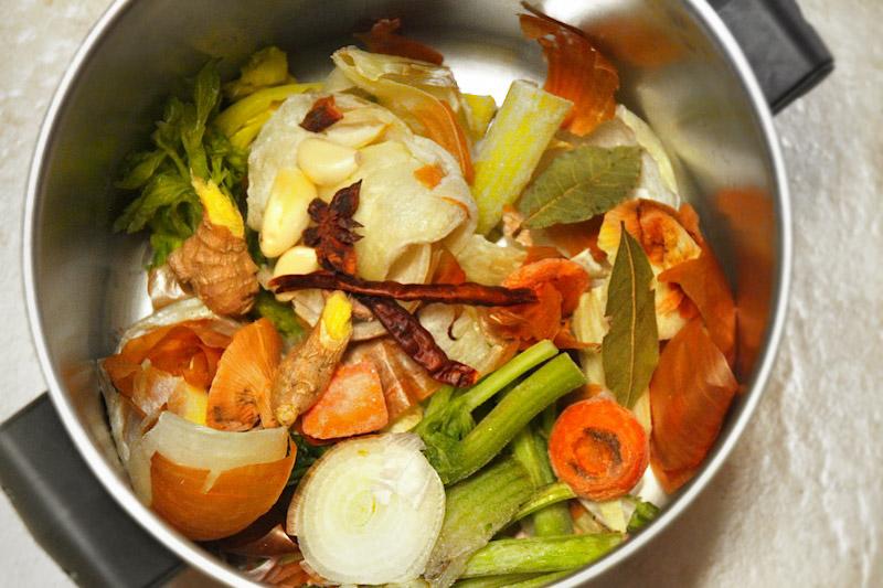 stock veggies