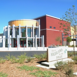 Client: The City of Highland Redevelopment Agency Project: Highland Police Administration Building Location: Highland, CA This LEED-Certified facility was designed to serve as the new Highland Police Station as well as a Memorial to Veterans, Officers and Fire Fighters.