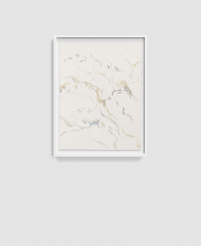TUNDRA by Satsuki Shibuya    Watercolor and colored pencil on paper | 2018. These new works by the artist Satsuki Shibuya are part of an emerging series Iro Wo Kiku (Listening to Colors). A continuing exploration of movements, vibrations, rhythms, patterns and energies, Shibuya translates the unseen world of sound into visible shapes and colors. Questioning the role of belief systems in our own perceived realities, these works are a collection of studies, searches and examinations through observation.