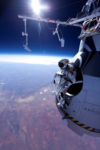 Image: Red Bull Stratos / Red Bull Content Pool