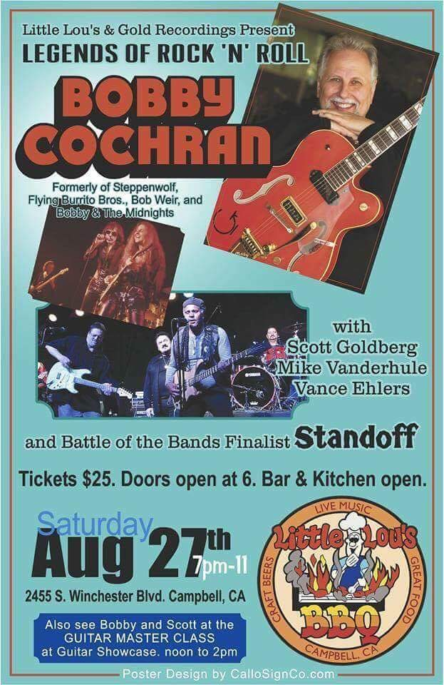 Standoff opening for Bobby Cochran 8/2016