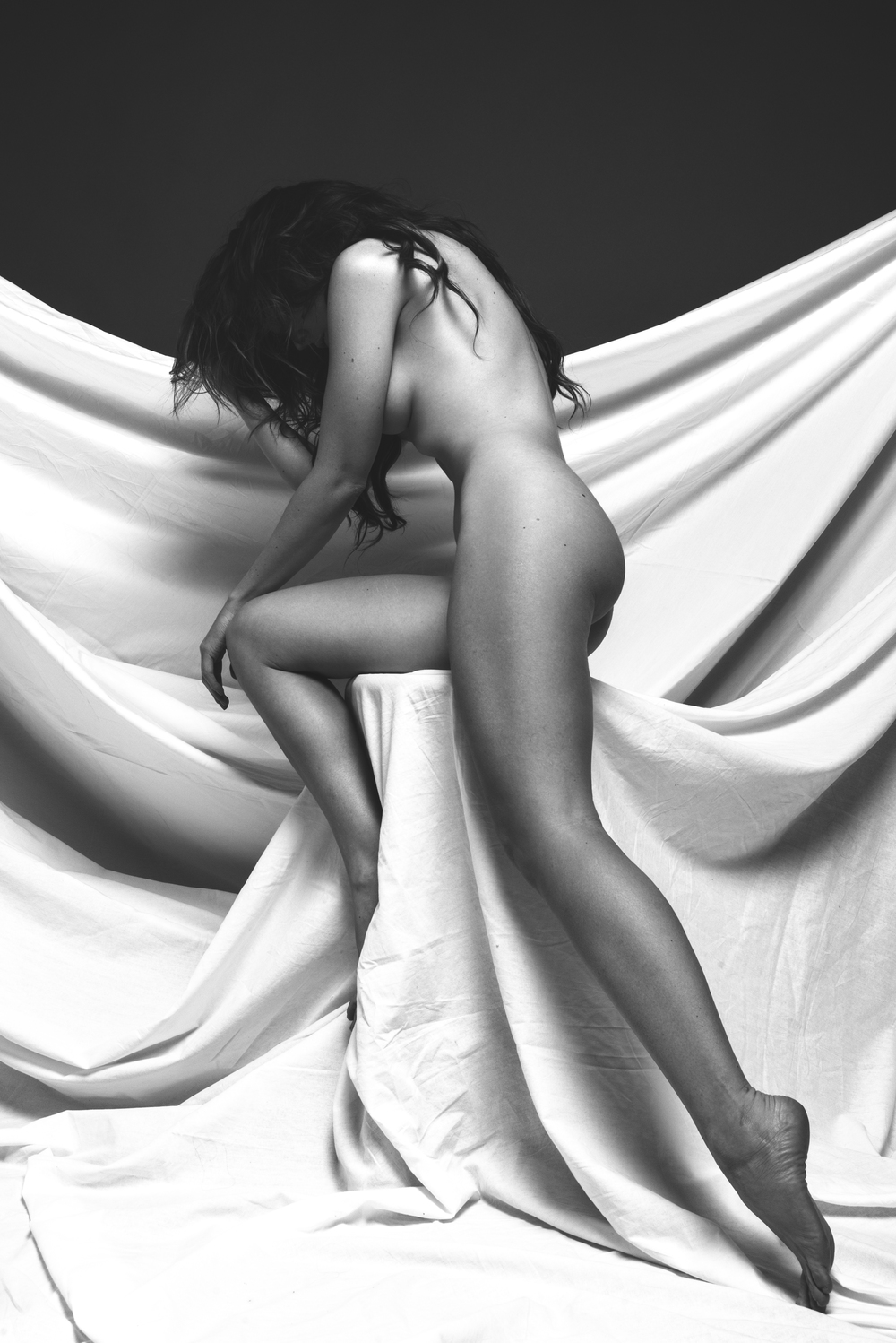 Art Nude Black and White by Romen Cole - Pure Rebel