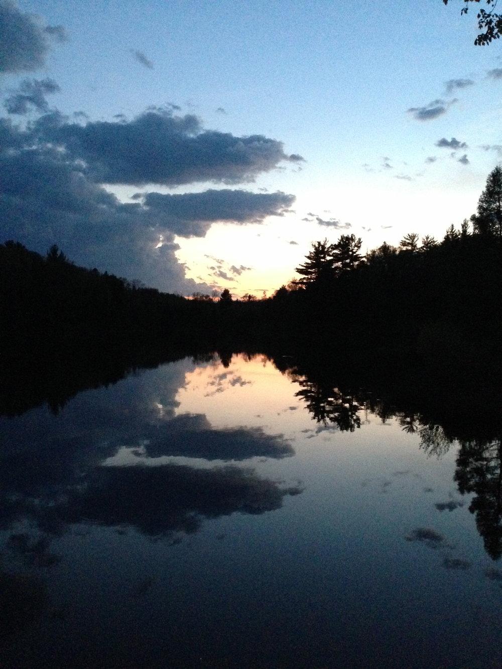 Camp 7 lake!