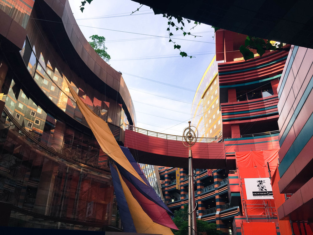 Hakata Canal City mall.