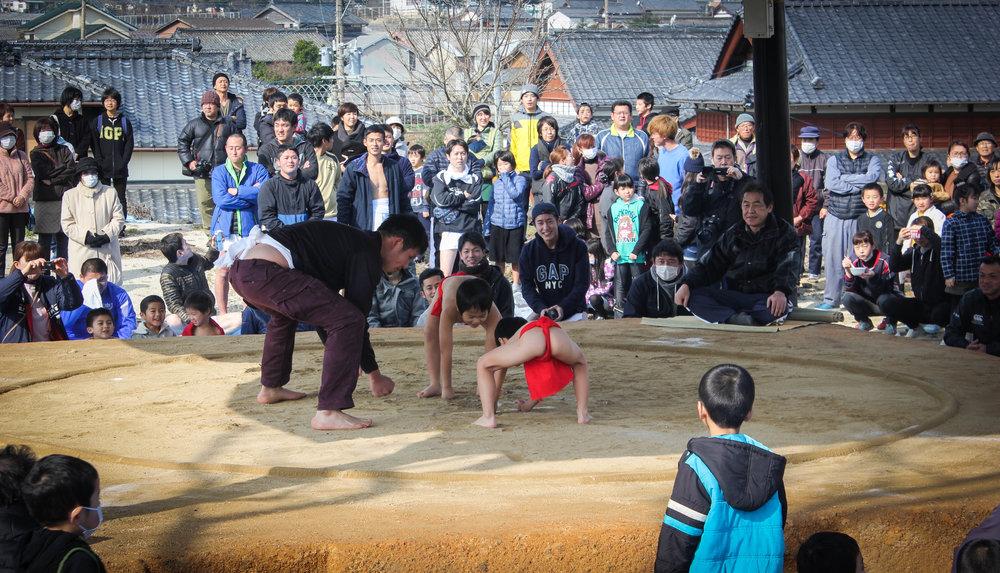 Kindergarten sumo!!