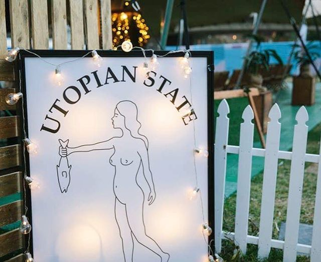 Not long now until the team from @andrescucina start their first 'interactive tasting' at @utopianstate with @surahn & @stockwine . 🍴♠️🎶 To read more about this unique @royalcroquetclub experience head to @broadsheet.adelaide - https://www.broadsheet.com.au/adelaide/food-and-drink/royal-croquet-club-launches-interactive-dining-experience #andrescucina #royalcroquetclub #adelaidefringe #utopianstate