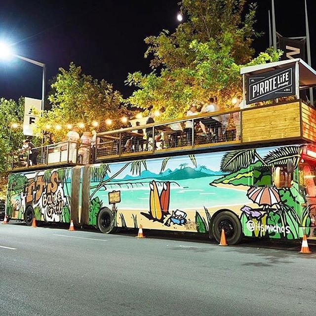 The count down is on! 💥 2 more sleeps until the opening of the @adlfringe where we will be serving delicious Italian street eats at @tjs_bar - a rooftop bar on a bus! 🍴🍻🍷🃏🎵 #adelaidefringe #rooftopbar #mangiamangia #andrescucina #tjsbar