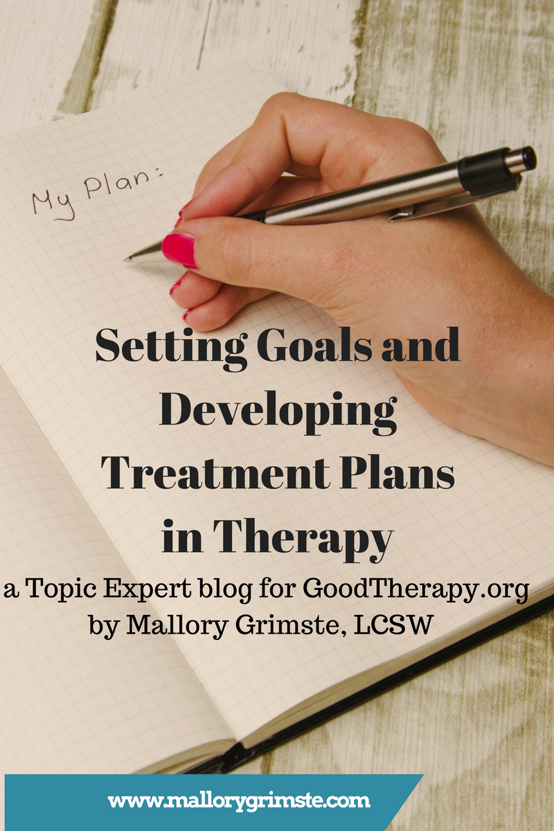 Setting Goals and Developing Treatment Plans in Therapy