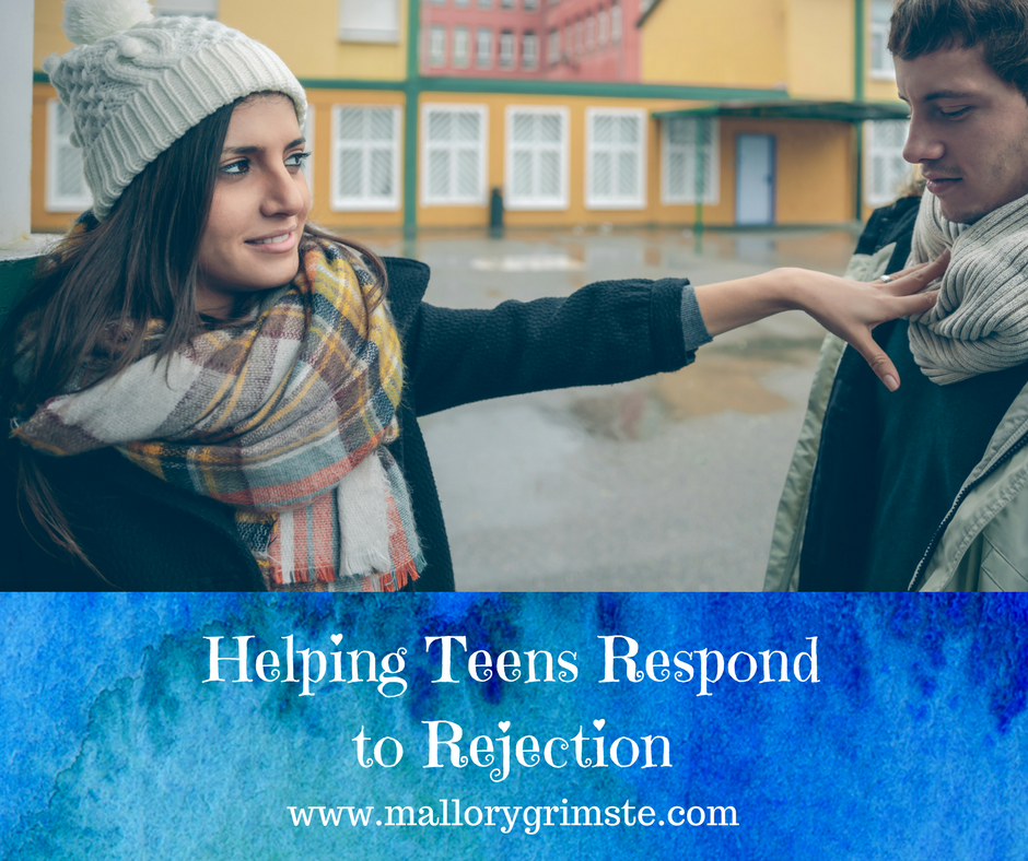 helping teens respond to rejection