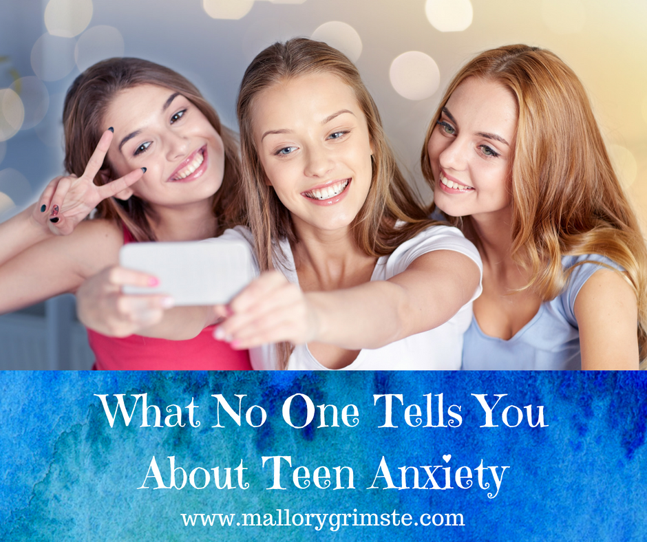 What No One Tells You About Teen Anxiety | Mallory Grimste LCSW - Teen Therapist | Woodbridge, CT