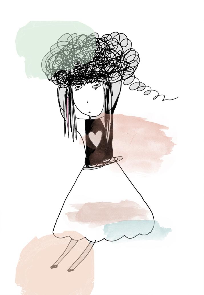 brain fog girl