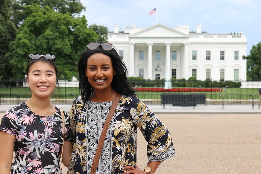 Rainbow & Bethel at the White House!