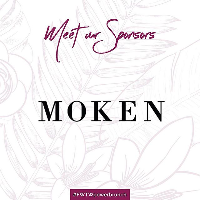 We had a great time partnering with @bymoken for the branding and graphic designing for our Empowerment Brunch! Not only do we have them as a sponsor, Founder, Monique Kennedy will be joining us on panel tomorrow.  Follow the hashtag #FWTWpowerbrunch for more!
