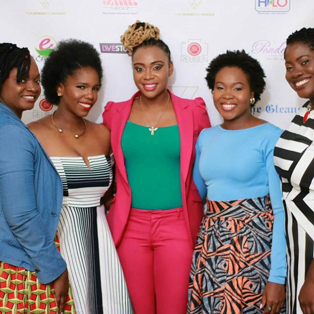 We come as one and stand as ten thousand. From L-R, JMMB Group representative Kemba Comrie @jmmbgroup, panelists at the event on 'Power of Self into Sisterhood' Monique Kennedy @shesmonique, Krystal Tomlinson @krystaltomlinson and Kemesha Kelly @kemeshakelly_ with Founder of For Women to Women, Carey-Lee Dixon @mscareylee at the FWTW Empowerment Brunch: Power, Influence and Sisterhood. Photo by: @JKavJA  See more highlights from the event using the hashtag #FWTWpowerbrunch  #FWTW #Powerfulwomeninjamaica