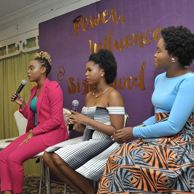 Power panelists from L-R Krystal Tomlinson, Monique Kennedy and Kemesha Kelly talks the Power of Self into Sisterhood - ladies talk about the power of knowing one's s self and pouring your authentic and true self into your relationships. Photo credit: @jkavja #FWTW #FWTWpowerbrunch