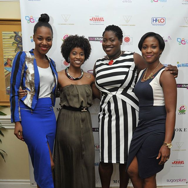 Built on sisterhood, thrive on having conversations that are valuable and help women to GROW 🌱#FWTW #FWTWpowerbrunch  L-R: Speaker on 'Cultivating Relationships Influencing Change'Terri-Karelle Reid @terrikarelle, Rushell Ferrah @ultra_rush , Founder of For Women to Women Carey-Lee Dixon @mscareylee and JMMB @jmmbgroup representative Saneka Irving-Nelson at the Empowerment Brunch: Power, Influence and Sisterhood.