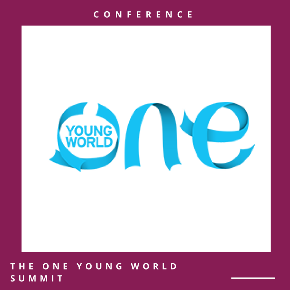 The One Young World Summit 2018, The Hague, The Netherlands (Fulll Funding Available) Conference Date: October 17-20, 2018 Application Deadline:April 2, 2018 Open to: International applicants  Apply online through the official website