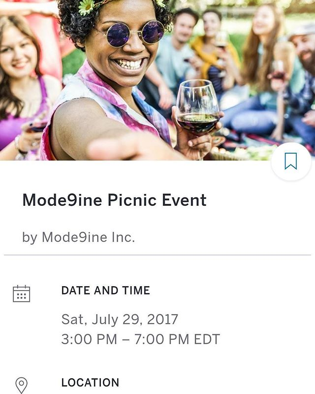 Simply search online for Mode9ine Picnic Event  or search on Eventbrite and follow the instructions on  how to get your tickets. ✌