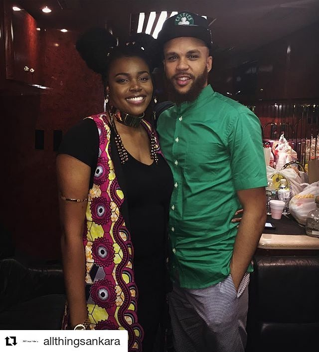 @nikkibilliejean in Mode9ine colorful long line blazer. #Repost @allthingsankara (@get_repost) ・・・ #repost @nikkibilliejean : It was a pleasure seeing @Jidenna at the Long Live The Chief Concert in D.C. two weeks ago! Many thanks to you and the tribe for all that you have done for me and the team! Forever grateful!  #tbt #lltctour #nikkibilliejean #jidenna #allthingsankara #fearandfancy