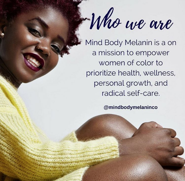 Image from Mind Body Melanin's Instagram page.