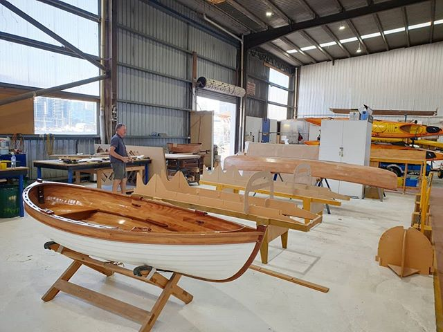 First night class underway for 2019. Two projects on the go for the moment.  #nightclass #boatbuildering #lapstrake #woodenboatbuilding #woodenboats #woodenboatcentre #docklands #victoriaharbour #collinswharf #timber #melbourne #melbournecraft #buildyourownboat #northwharf
