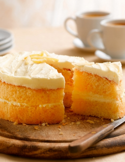 Marks and Spencers Gluten Free Lemon Sponge Cake  -image courtesy of MarksandSpencers.co.uk.
