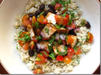 Image from IowaGirlEats.com - Chipotle Burrito Bowl